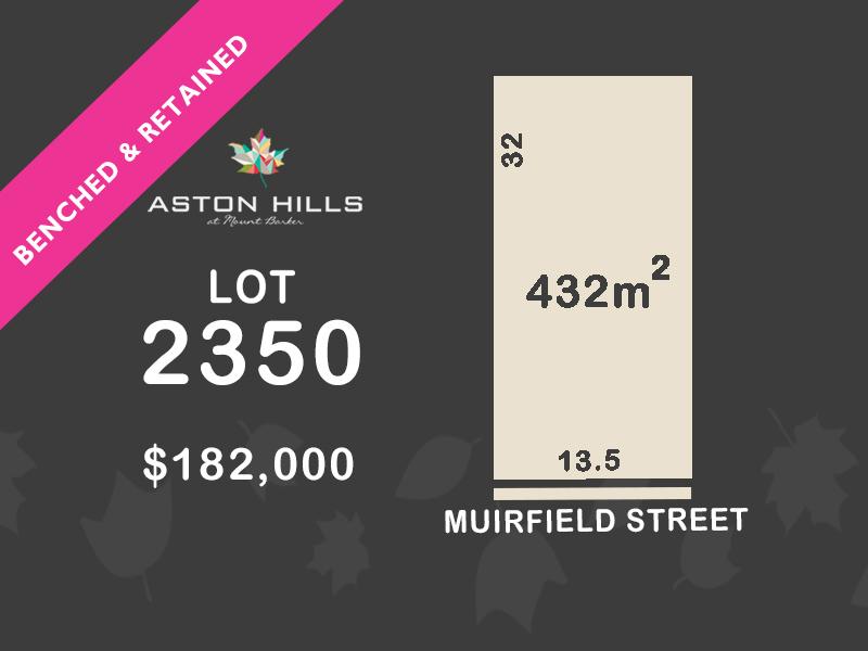 Lot 2350, Muirfield Street, Mount Barker, SA 5251