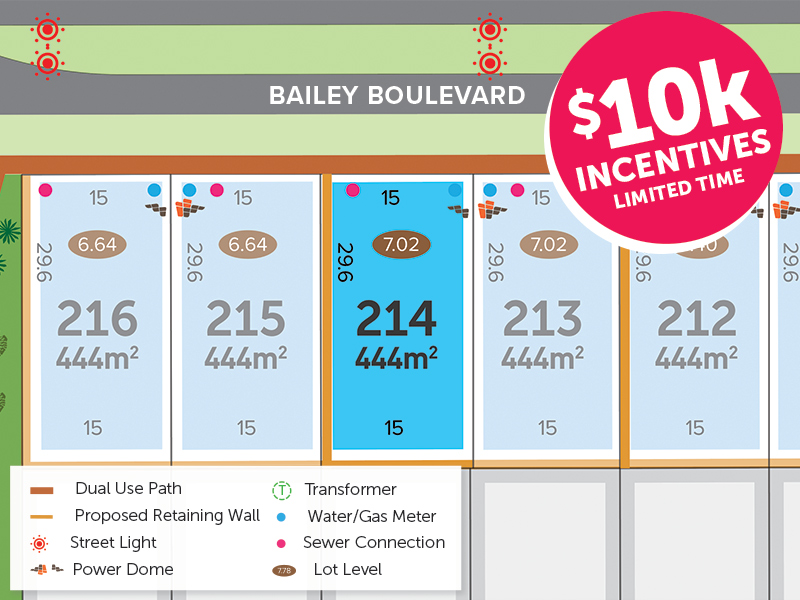 Lot 214, Bailey Boulevard, Dawesville, WA 6211