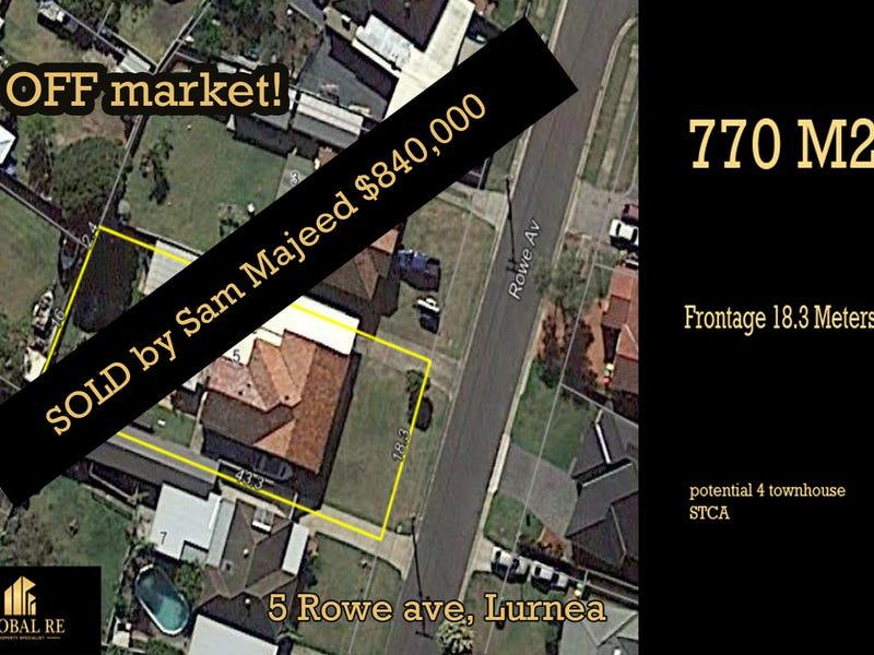 5 rowe street, Lurnea, NSW 2170