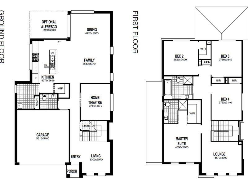 Lot 4590 Proposed Road (Elara), Marsden Park, NSW 2765 - floorplan