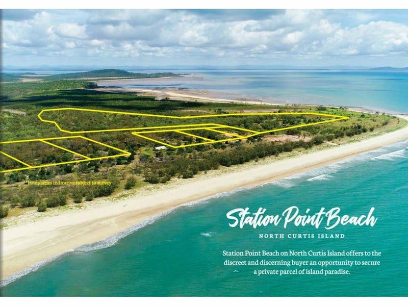 Station Point Beach, North Curtis Island, Curtis Island, Qld 4680