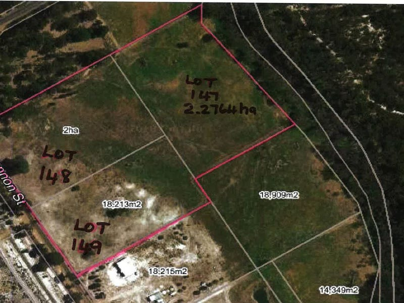 Lots 147, 148 & 149 Shannon Street, Collie Burn, WA 6225