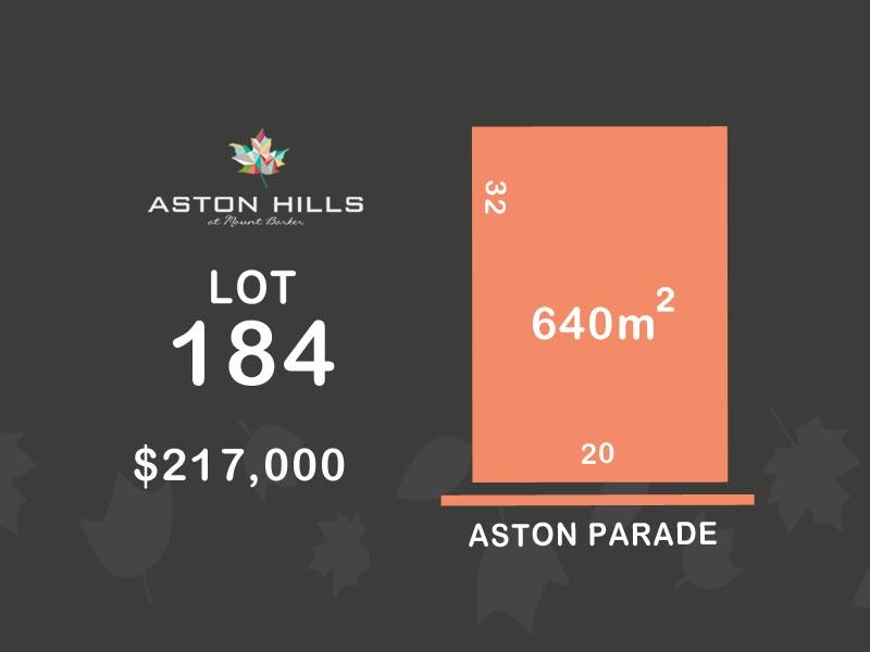 Lot 184, Aston Parade (Aston Hills), Mount Barker, SA 5251