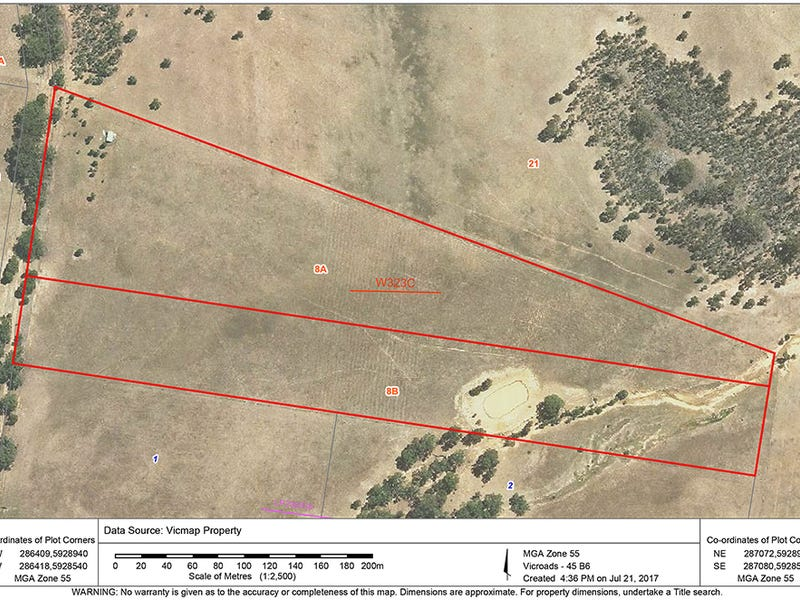 Lot CA 8A & 8B, Axedale-Crosbie Road, Toolleen, Vic 3551