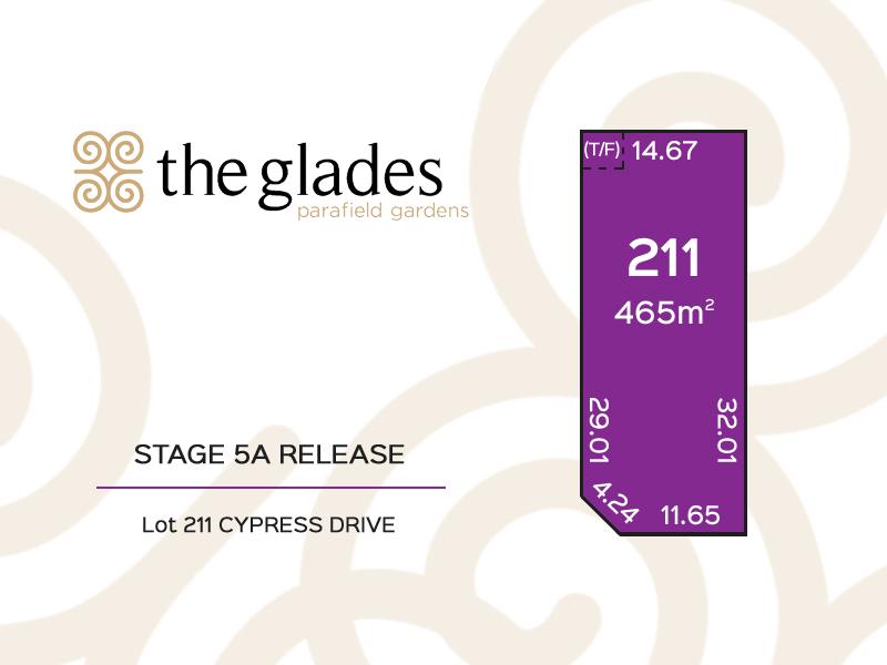 Lot 211 Cypress Drive, Parafield Gardens, SA 5107