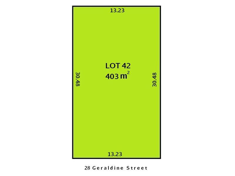Lot 42, 28 Geraldine Street, Valley View