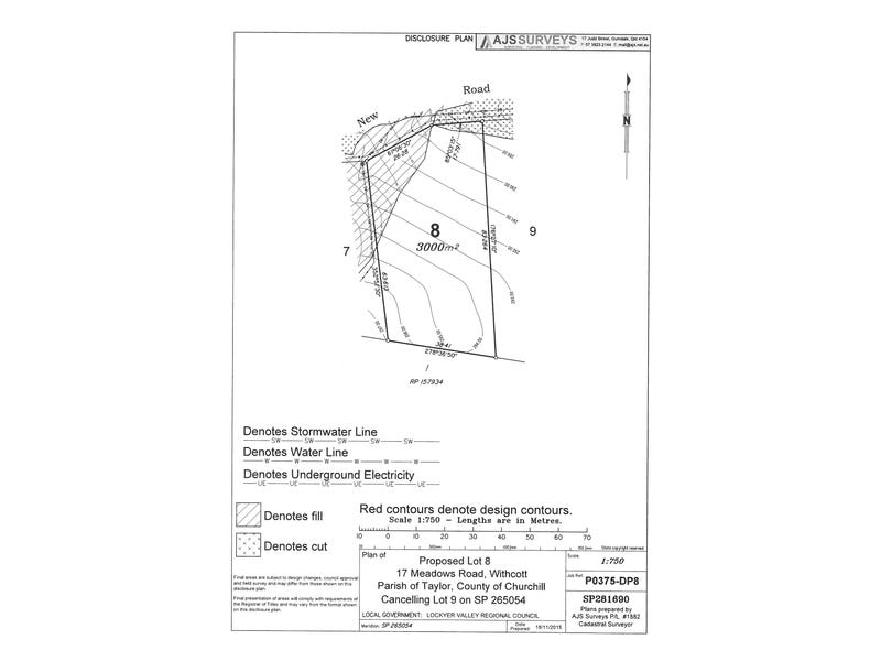"Lot 8 ""Panoramic Meadows"", 17 Meadows Rd, Withcott, Qld 4352"