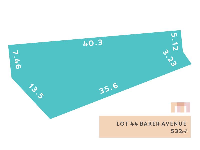 Lot 44, Baker Avenue (Morphettville), Morphettville, SA 5043