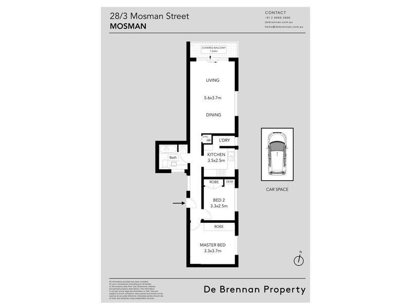 28/3 Mosman Street, Mosman, NSW 2088 - floorplan