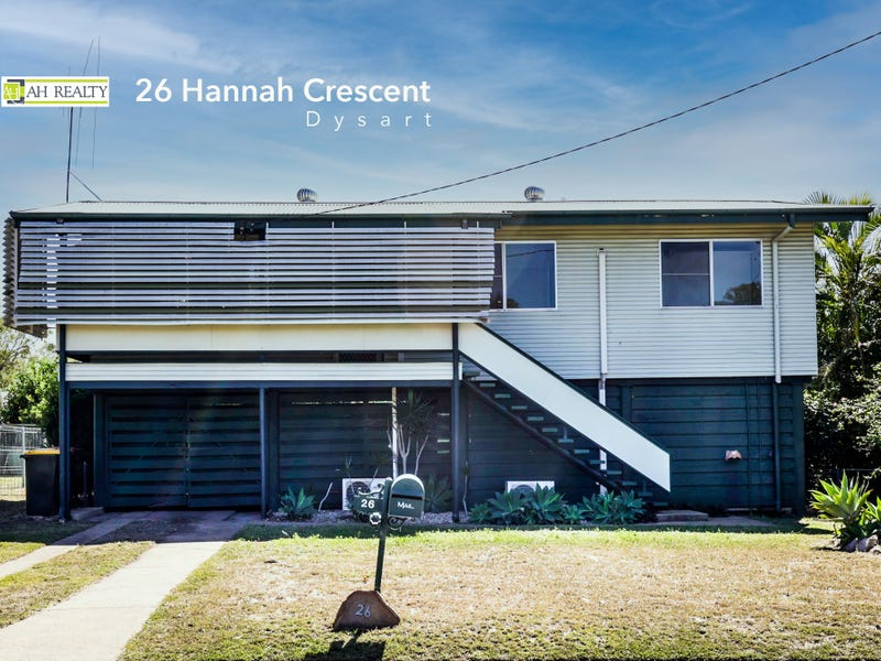 26 Hannah Crescent, Dysart, Qld 4745