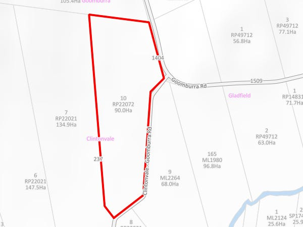 1404 Goomburra Rd, Clintonvale, Qld 4370