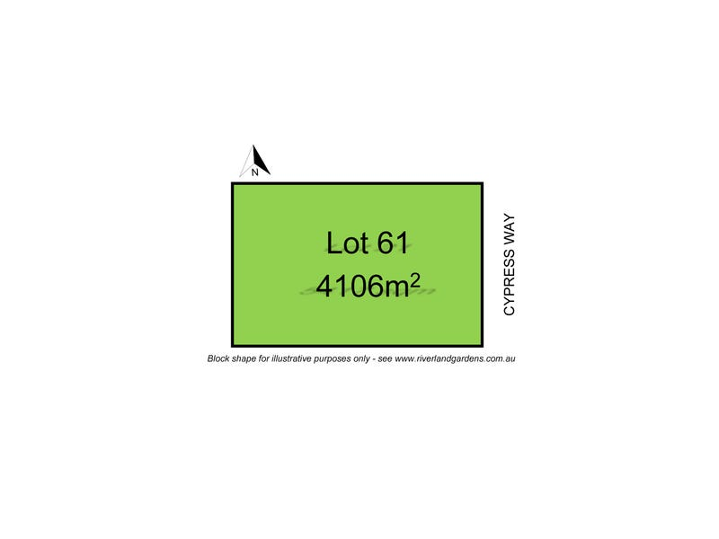 Lot 61 Cypress Way, Mulwala, NSW 2647