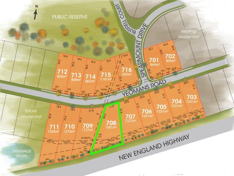 Lot 708, The Foothills Estate, Armidale, NSW 2350