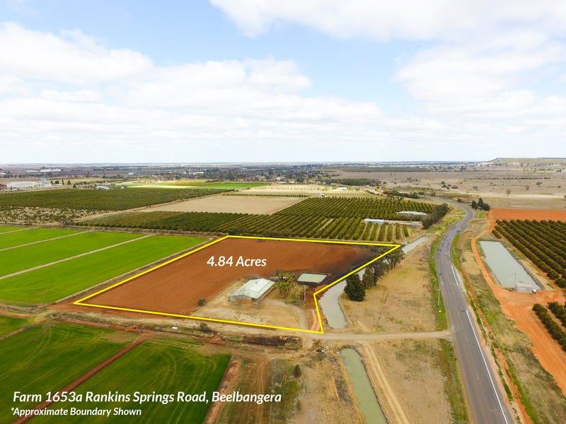 Farm 1653A Rankins Springs Road, Beelbangera, NSW 2680