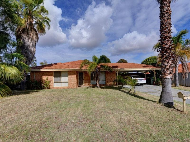3 Kazan Close (Settled 20/12/12), Joondalup, WA 6027