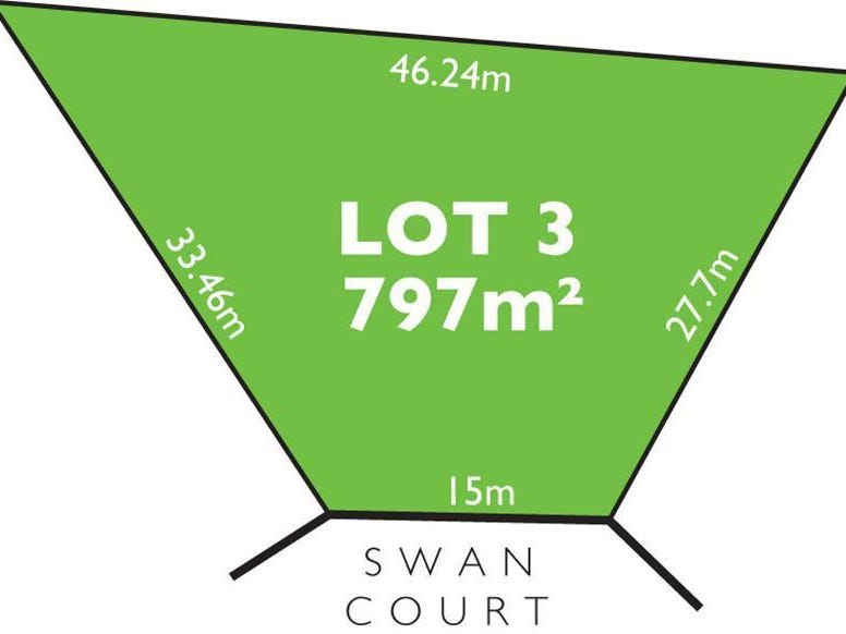 Lot 3 Swan  Court, Modbury Heights, SA 5092