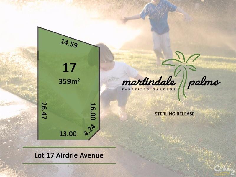 Lot 17 Airdrie Avenue, Parafield Gardens, SA 5107