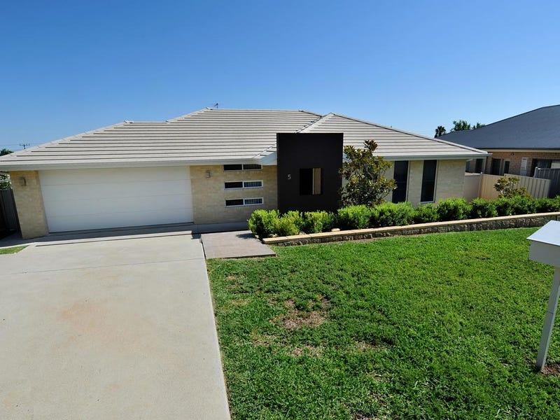 5 TENNANT COURT, Gunnedah, NSW 2380