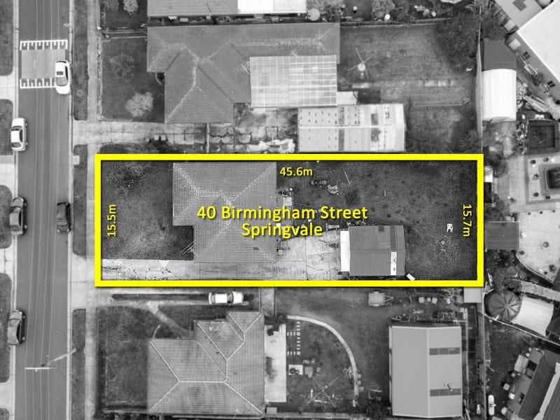 40 Birmingham street, Springvale, Vic 3171