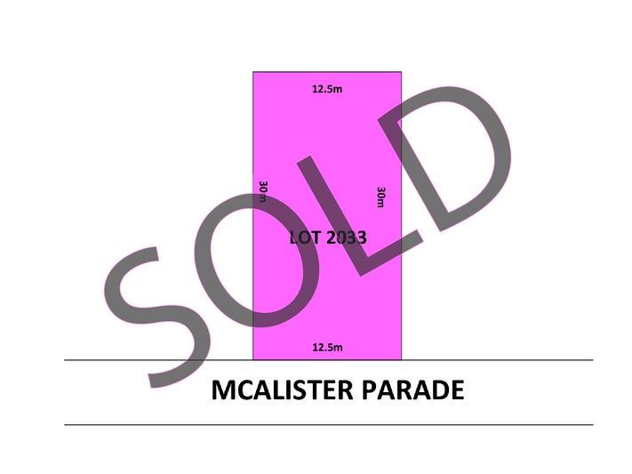 Lot 2033, 16 McAlister Parade, Marsden Park, NSW 2765
