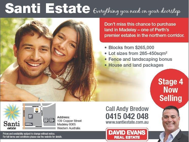 Lot 284 Santi Estate, Madeley, WA 6065