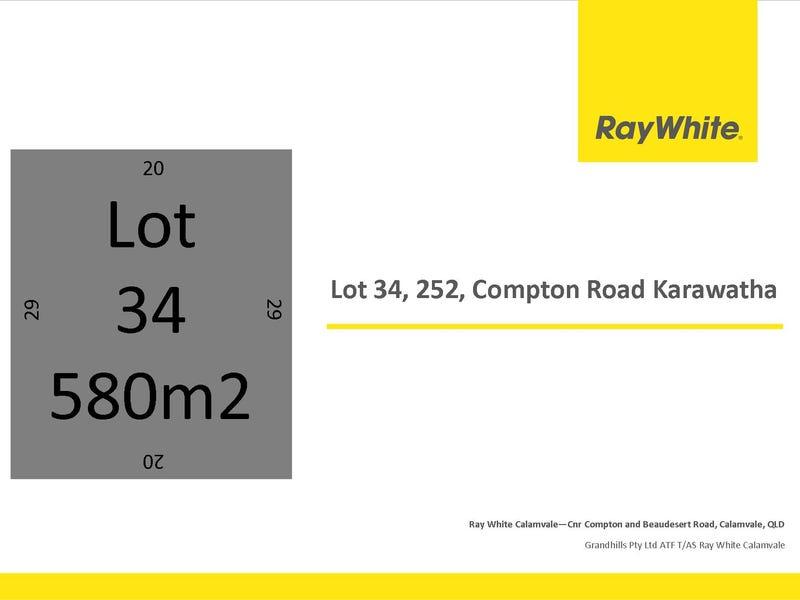 Lot 34, 252 Compton Rd, Karawatha