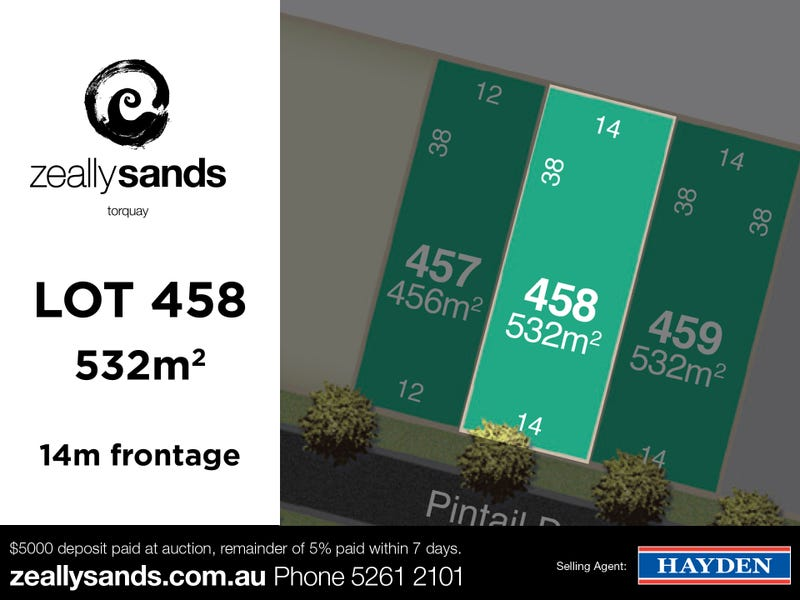 Lot 458 Zeally Sands  Estate, Torquay, Vic 3228