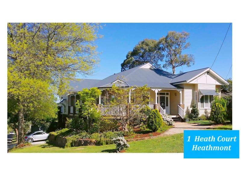 1 Heath Court, Heathmont, Vic 3135