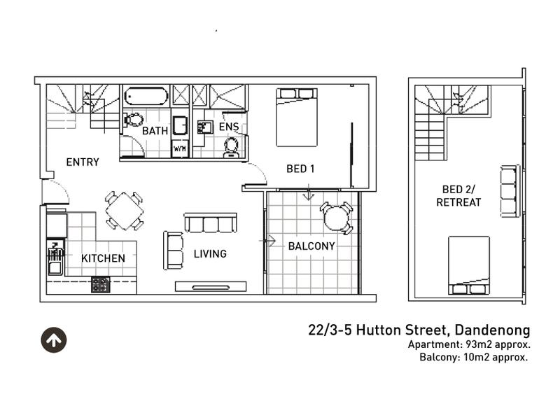 22/3-5 Hutton Street, Dandenong, Vic 3175