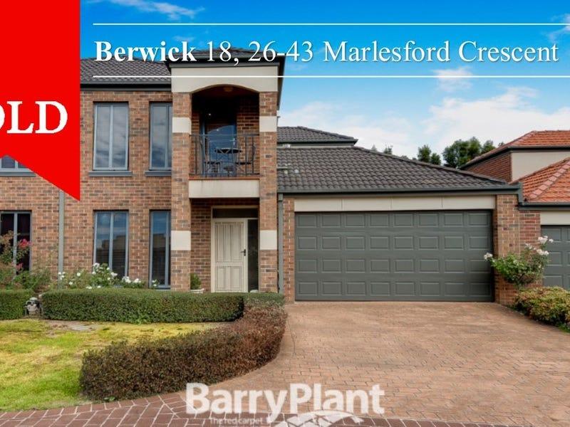 18-26/43 Marlesford Crescent, Berwick, Vic 3806