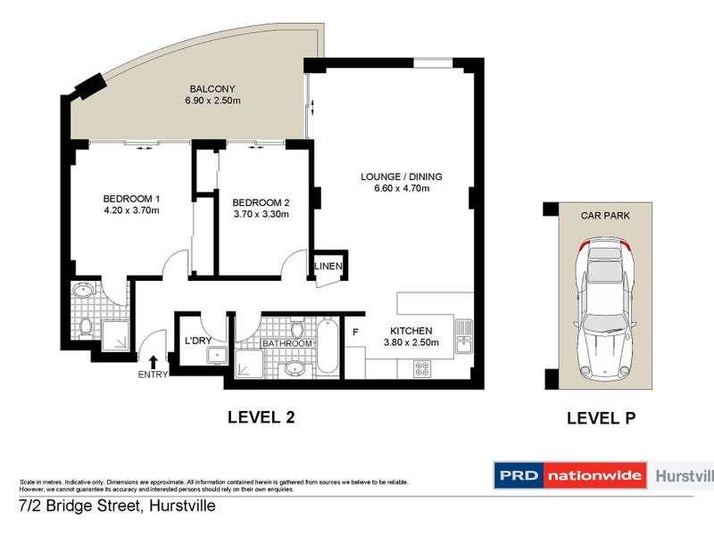 7/2 Bridge Street, Hurstville, NSW 2220 - floorplan