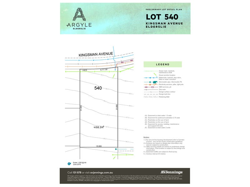 Land  Lot 540 Kingsman Ave, Elderslie, NSW 2570