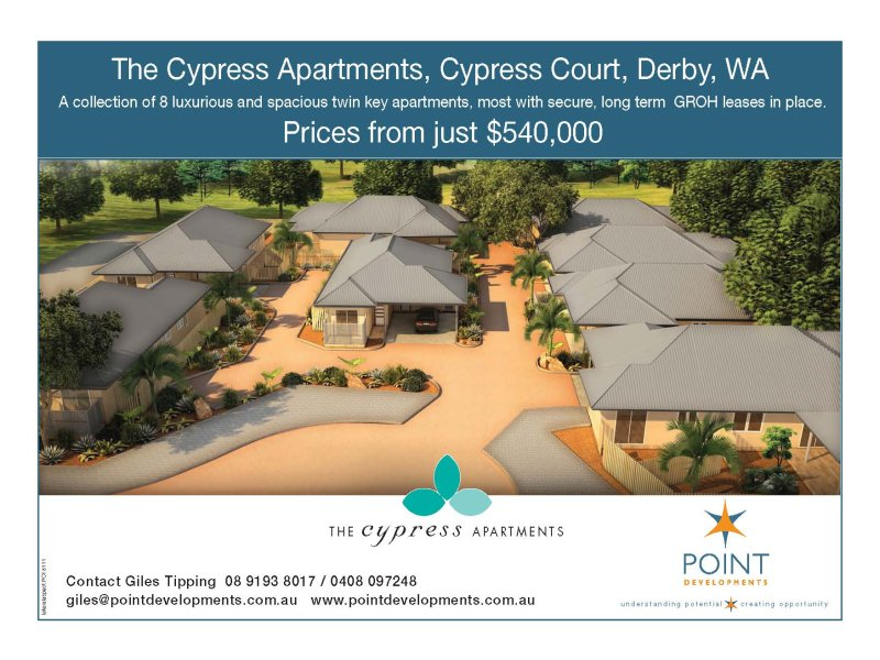 2/1 Cypress Court, Derby, WA 6728