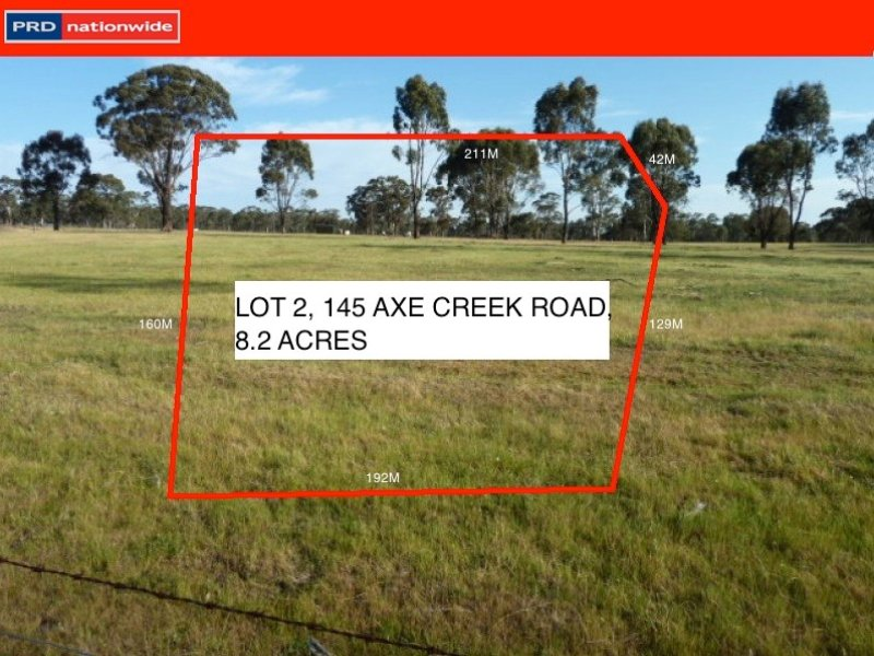 Lot 2, 145 Axe Creek Road, Axe Creek, Vic 3551