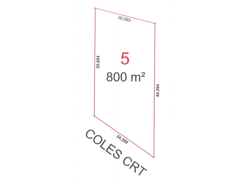 Lot 5, 3 Coles Court, Toogoom Qld 4655