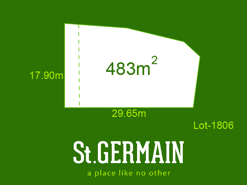 Lot 1806, St Germain, Clyde North, Vic 3978