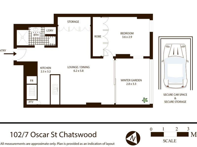 102/7 Oscar Street, Chatswood, NSW 2067 - floorplan