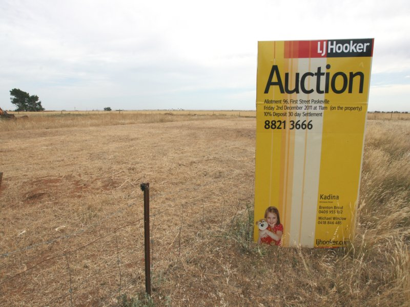Lot 96, First Street, Paskeville, SA 5552