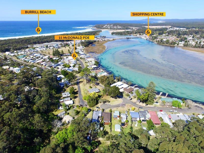 15 McDonald Parade, Burrill Lake, NSW 2539