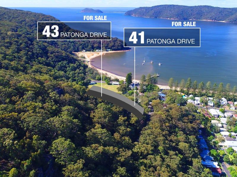 41 & 43 Patonga Drive, Patonga, NSW 2256