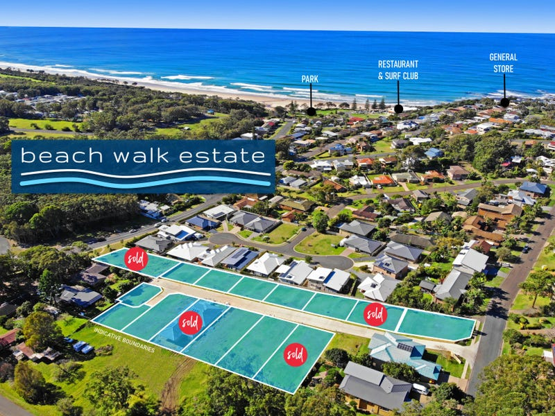 Lots Beach Walk Estate, Bonny Hills, NSW 2445