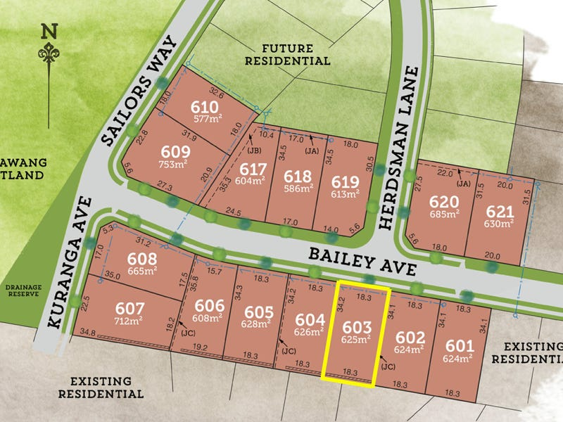 Lot 603 Bailey Avenue, Raymond Terrace, NSW 2324