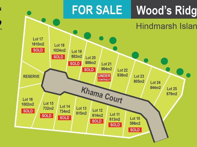 Lot 10 - 25, Khama Court, Hindmarsh Island, SA 5214