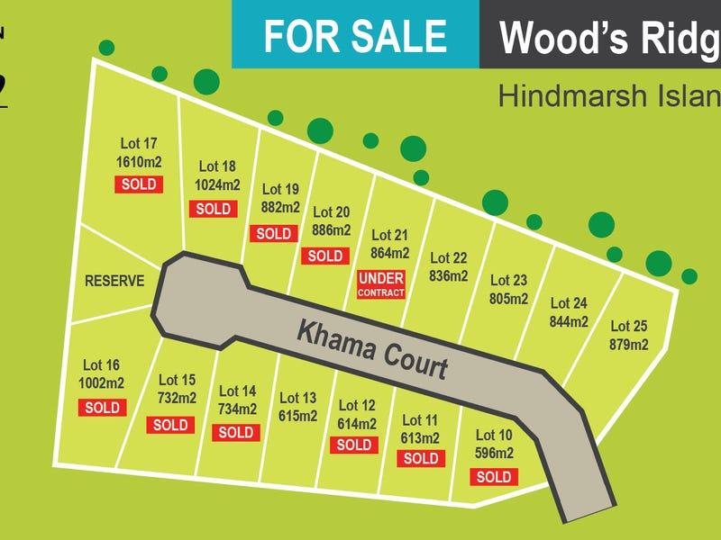 Lot 10 - 25, Khama Court, Hindmarsh Island