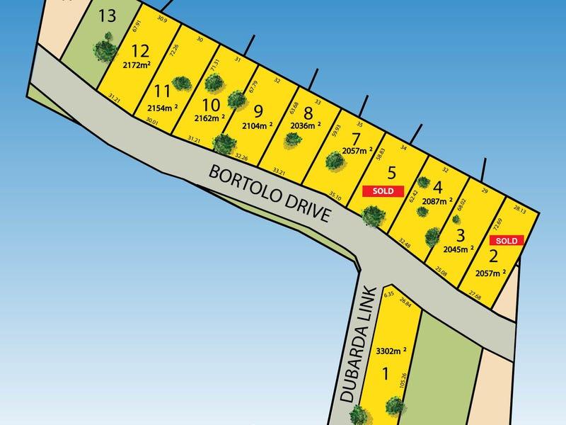 LOTS 3, 4, 7, 8, 9, 10, 11 & 12 Bortolo Drive, Greenfields, WA 6210