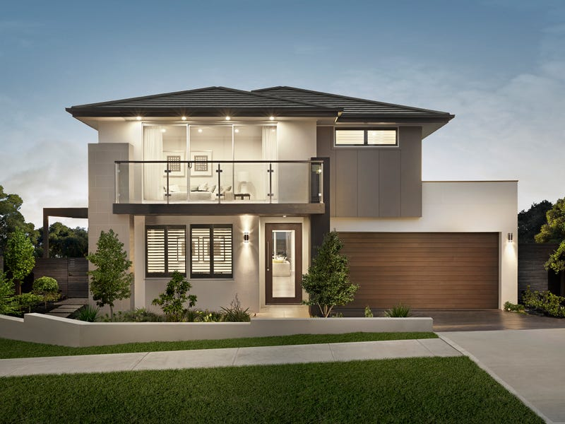 Benham 30 trend facade by rawson homes rhodes new for Acreage home designs nsw