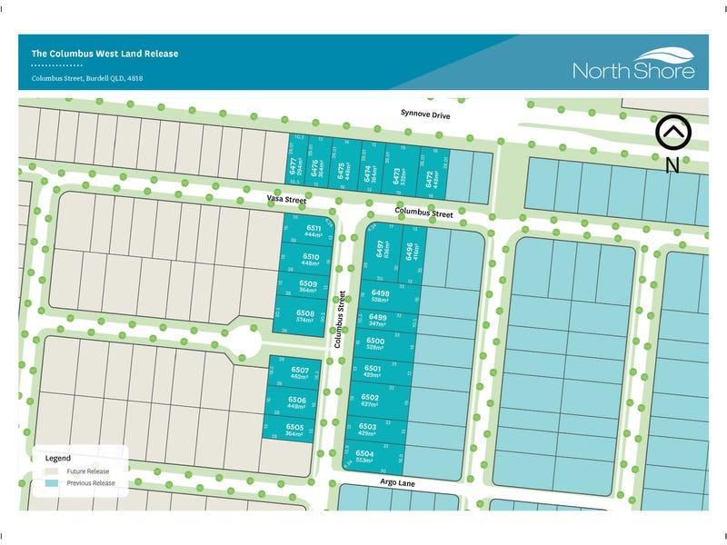 Lot 6509 Columbus Street, Burdell, Qld 4818