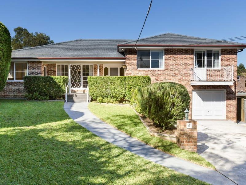 6 Kittani Place, Killara, NSW 2071