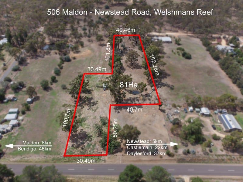 506 Maldon-Newstead Road, Welshmans Reef, Vic 3462