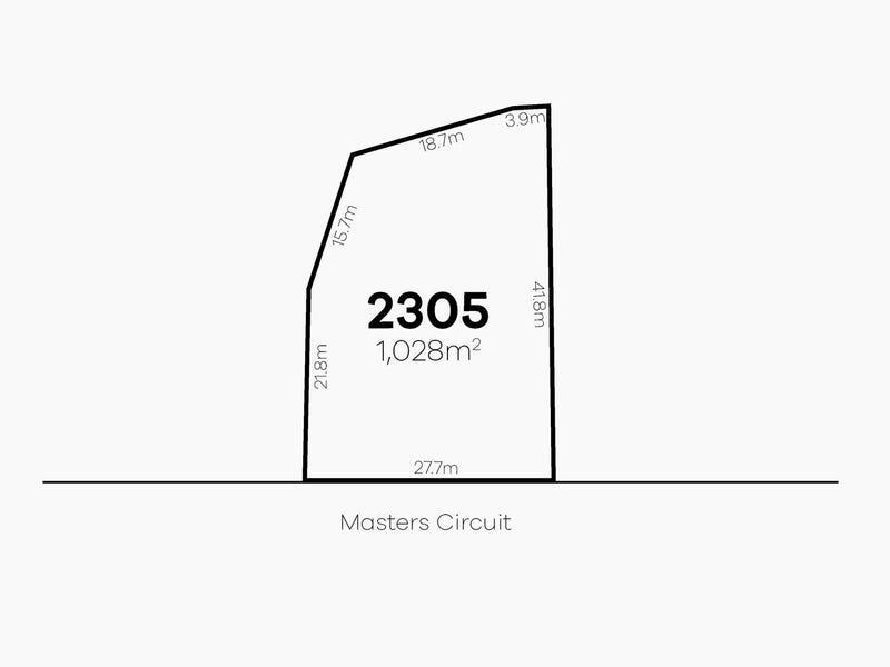 Lot 2305 Masters Circuit | Stonecutters Ridge, Colebee, NSW 2761